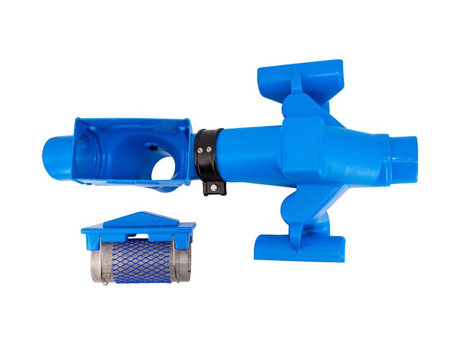 Siphon/filter unit