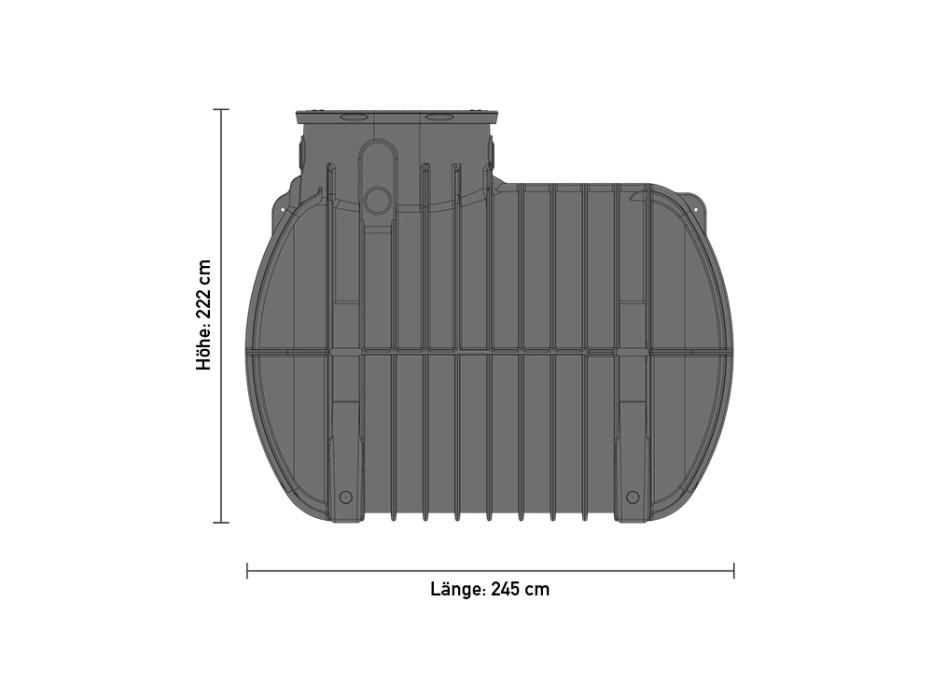 erdspeicher rtmo 5000 liter 08203. Black Bedroom Furniture Sets. Home Design Ideas