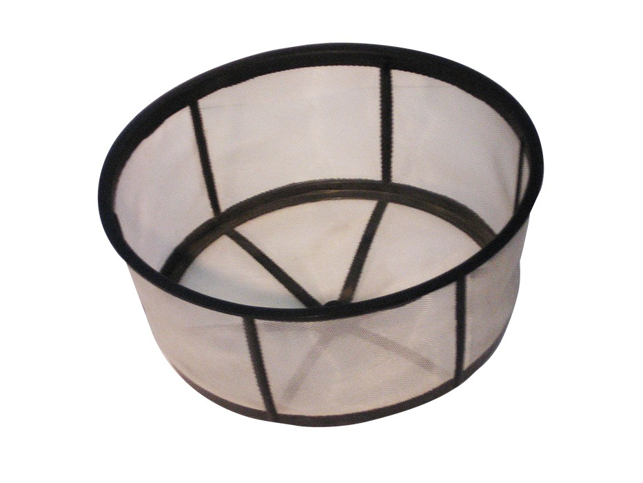 Synthetic tank strainer