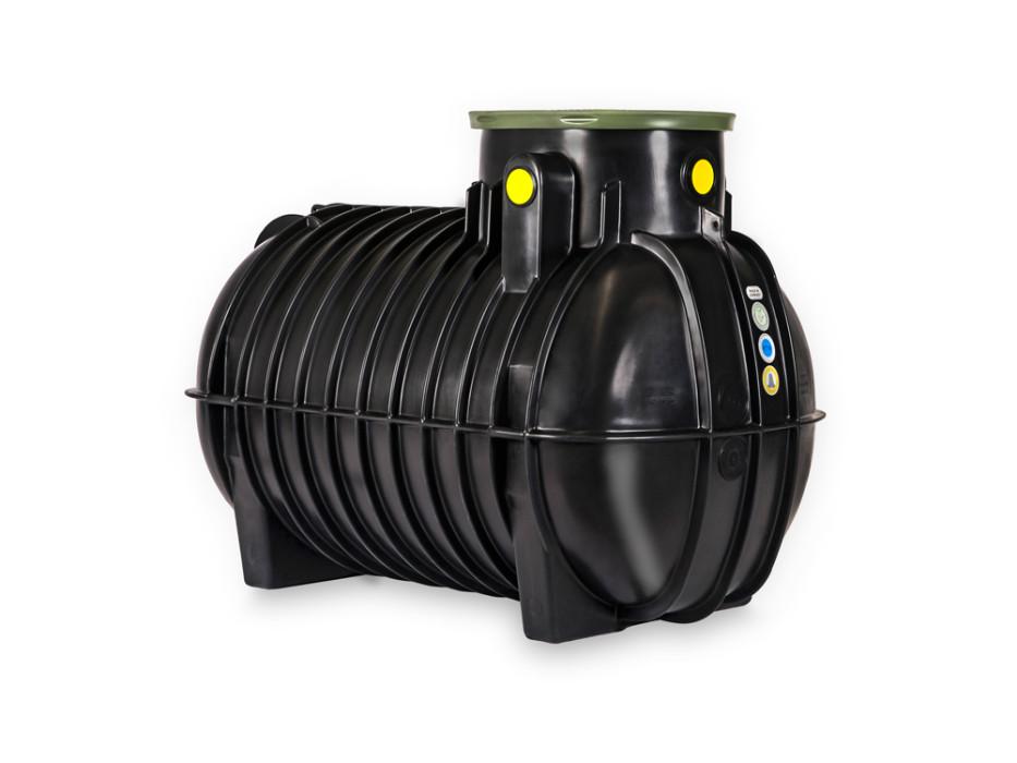 Rotomoulded underground tank
