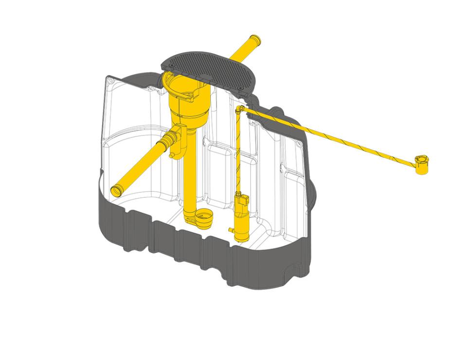 Komplettset »Schmaltank« 3000 Liter