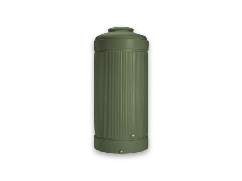 Ordentlich Regensäule 1000 Liter grün, Regentonne BP23