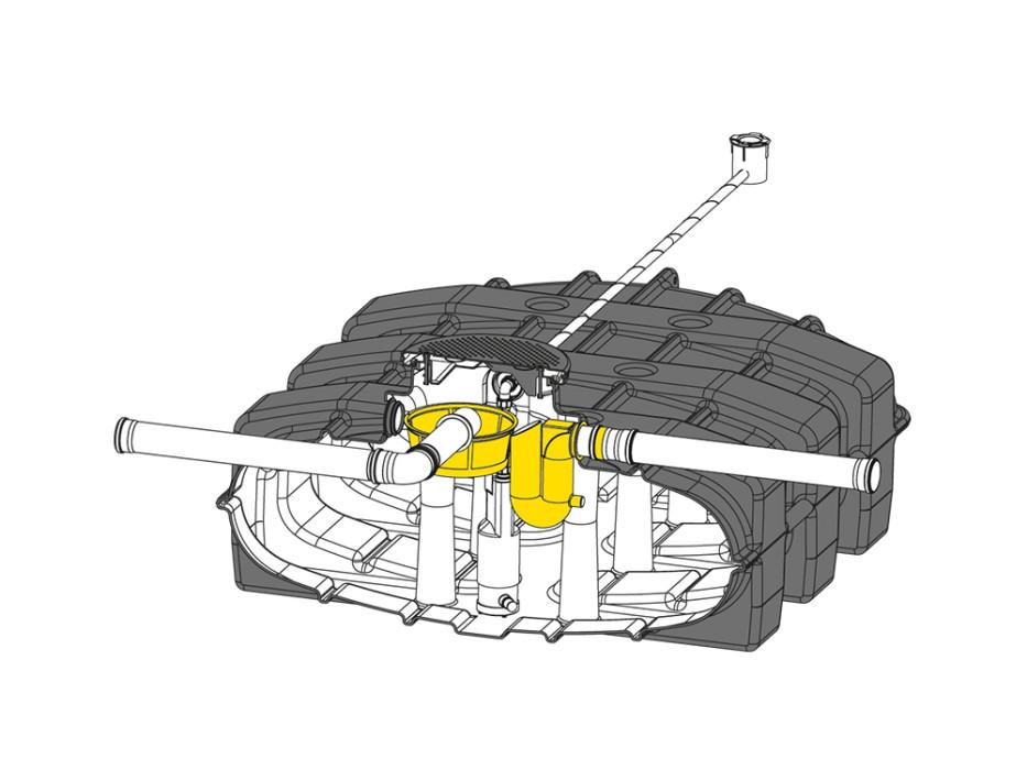 Flat tank tank kit